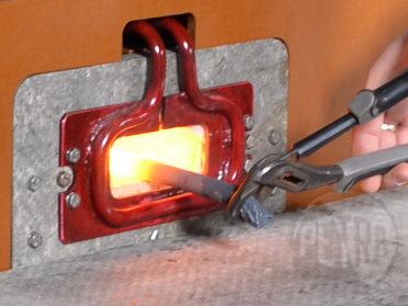 Индукционная установка ПЕТРА-0502 для нагрева заготовок под штамповку