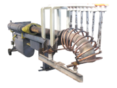 Установка индукционная для изготовления цельнотянутых крутоизогнутых отводов