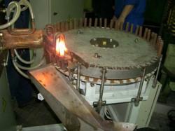 Индукционные установки для нагрева концов заготовок
