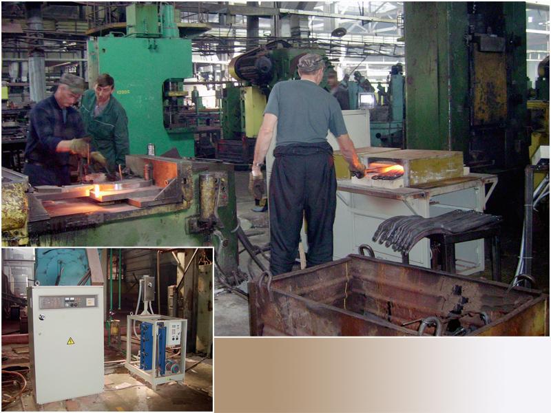Передана в эксплуатацию индукционная нагревательная установка ПЕТРА-ИНС.