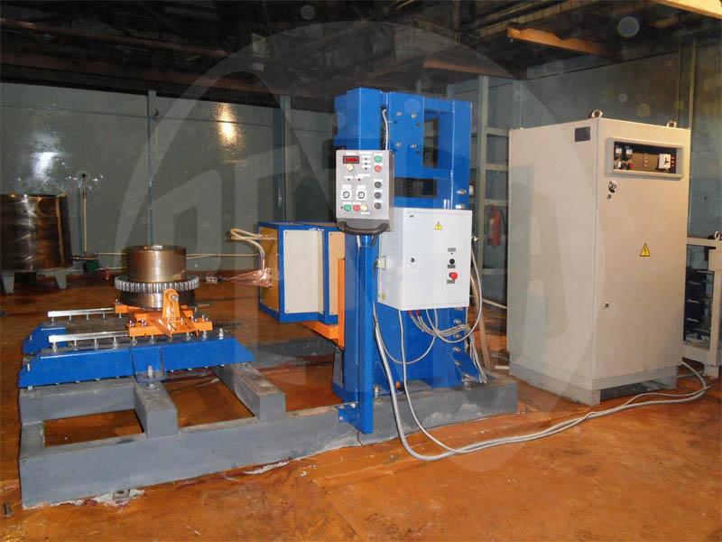 Индукционная установка ПЕТРА-0501 для закалки крупномодульных шестерён