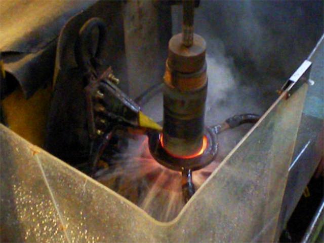 Запуск ТПЧ ПЕТРА-120 в составе установки ИЗ-7