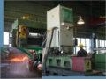 Запущена установка для закалки направляющих станин металлорежущих станков.