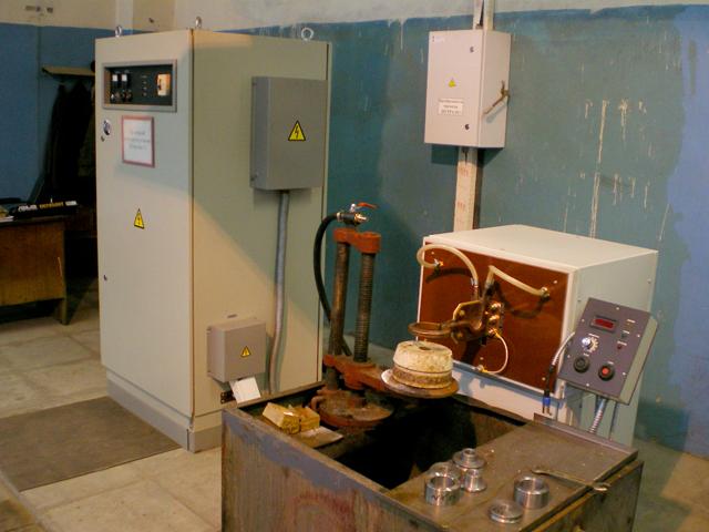 Запущена установка для пайки инструмента и термообработки запасных частей химического оборудования