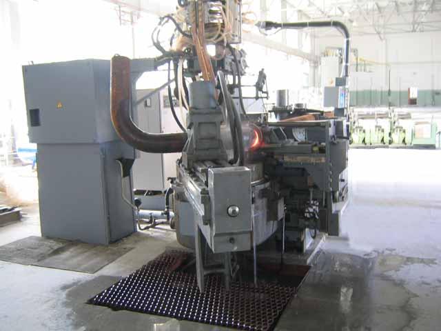 Завершились наладочные работы на трубогибном стане ТГС-160.