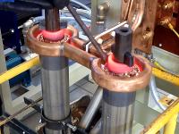 Индукционная пайка пакетов роторов погружных насосов