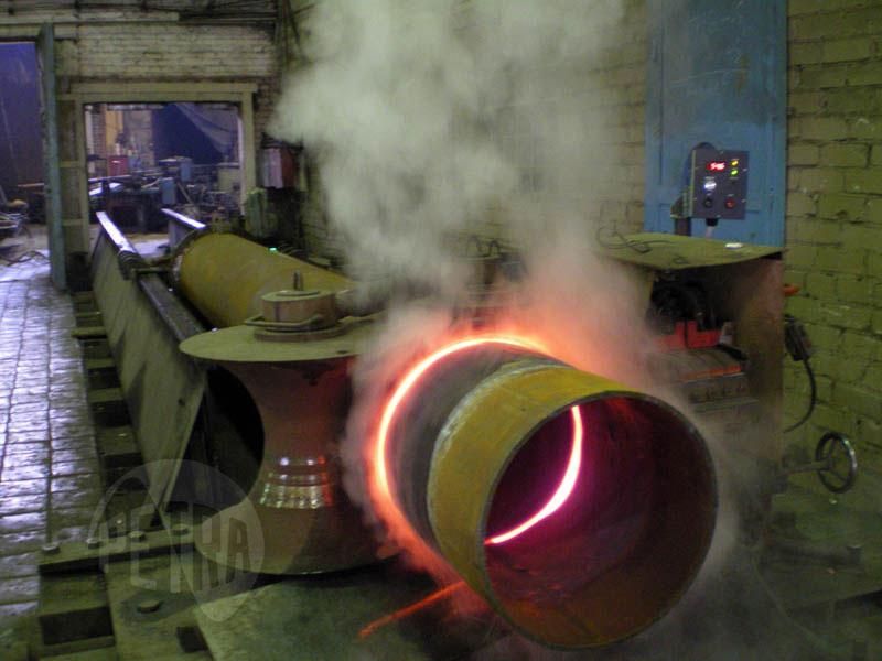 Модернизация установки индукционного нагрева для трубогибочных станов ТГУ-325 и ТГУ-500