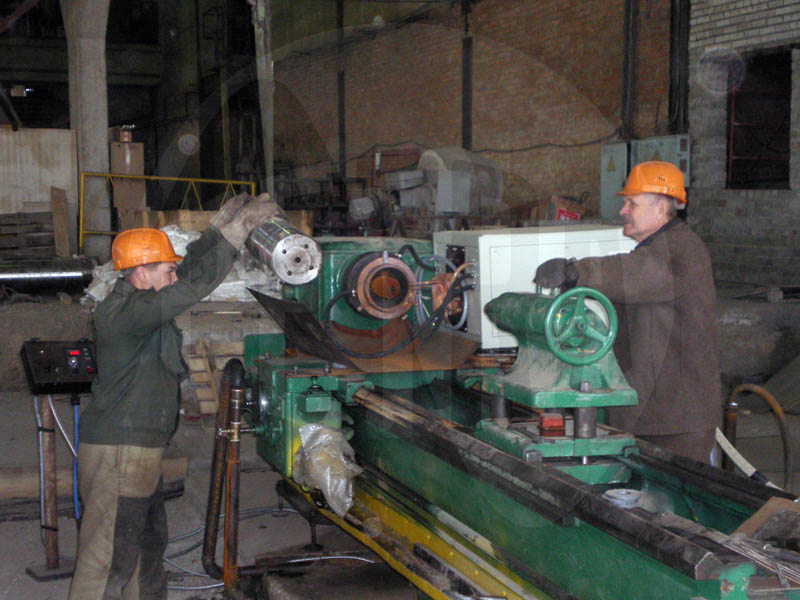 ТВЧ-закалка валов на индукционной установке ПЕТРА 250 кВт
