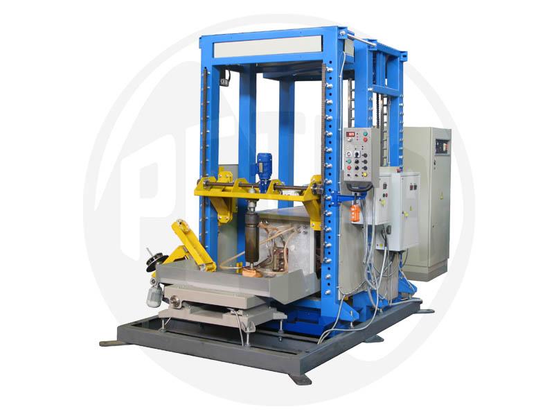 Индукционная нагревательная установка ПЕТРА-0501 и закалочный станок УВП-1500-Ш