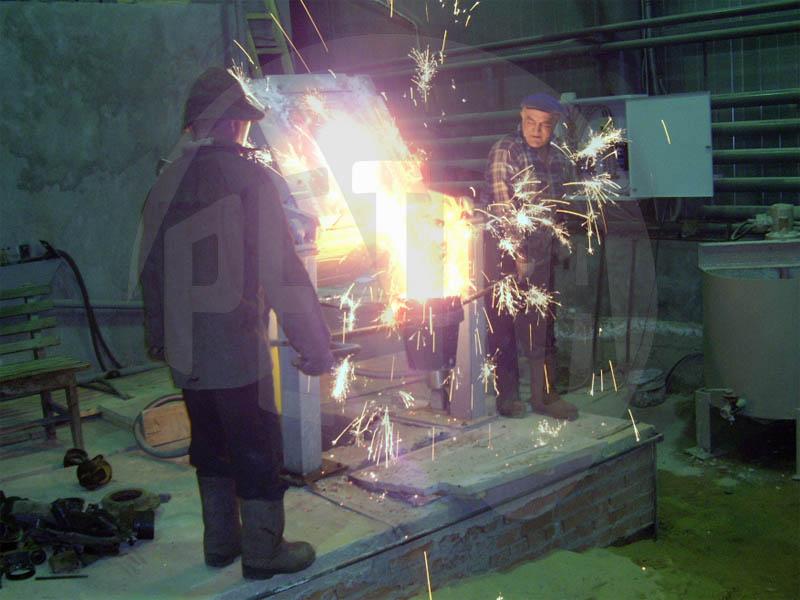 Переоборудование литейного участка ремонтного цеха ОАО «Южуралзолото группа компаний»