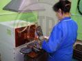 """На ОАО """"Сарапульский электрогенераторный завод"""" запущена установка ПЕТРА-0501 для пайки резцов."""