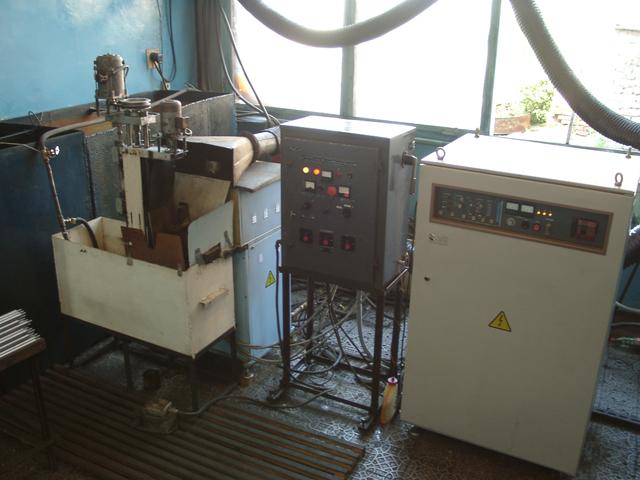 Индукционная нагревательная установка ПЕТРА-0501 для закалки штоков