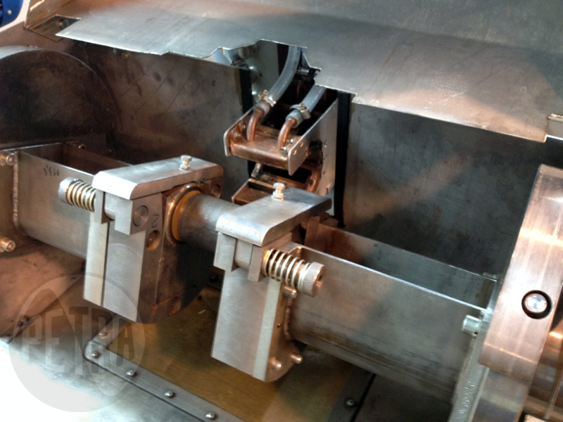 Индукционная установка для ТВЧ-закалки коленчатых валов