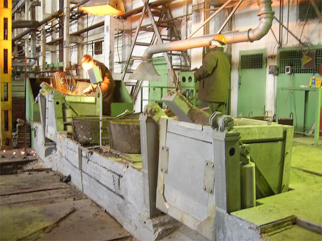 Введена в эксплуатацию индукционная плавильная установка ИСТ-0,4/0,32.