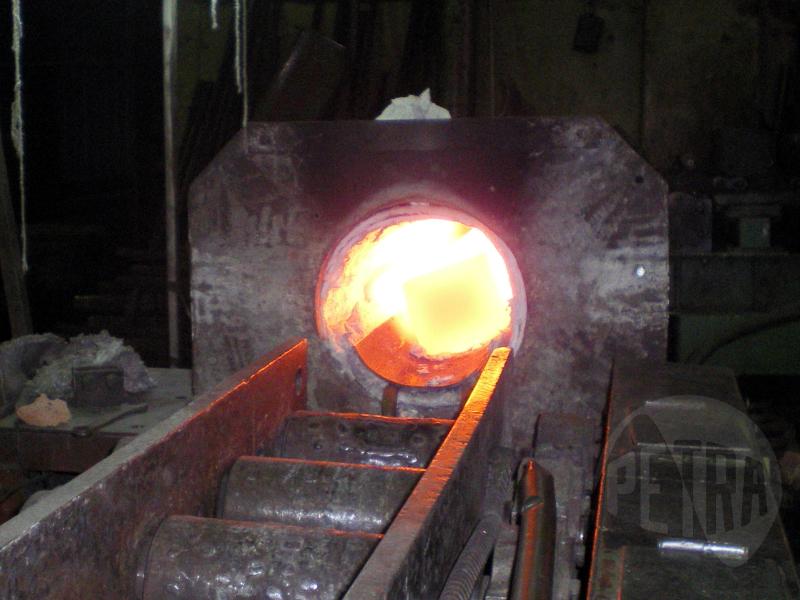 Модернизация установки индукционного нагрева для радиальноковочной машины