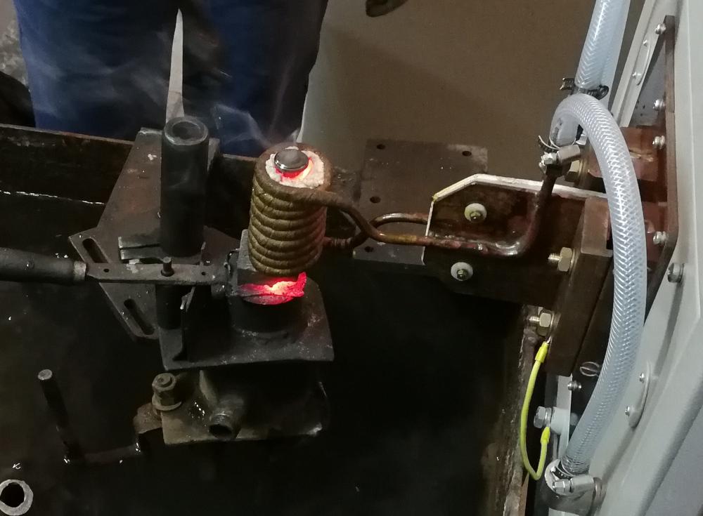 Установка индукционного нагрева ПЕТРА-0501 взамен китайской установки