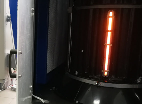 Заводские испытания эпитаксиальных установок с индукционным нагревом