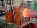 Установка индукционного нагрева труб для эмалирования
