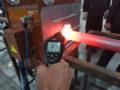 Установка индукционной термообработки труб