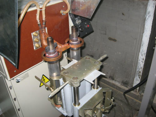 установка для пайки роторов