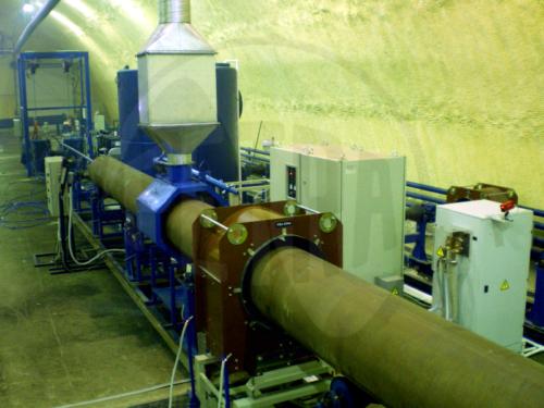 нагревательная установка трубы
