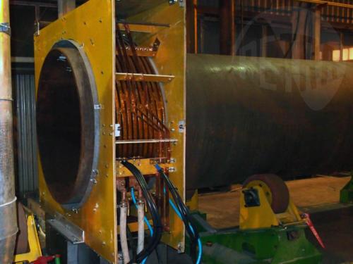 Индуктор для нагрева труб