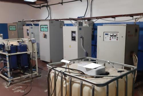 Индукционная установка под штамповку