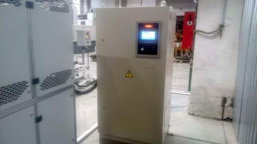 Преобразователь частоты для индукционной установки