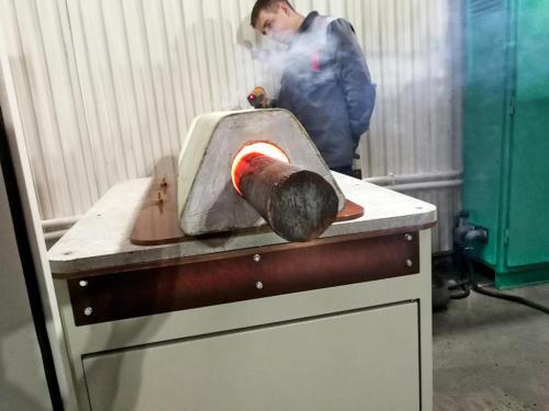 нагрева заготовок под штамповку в горизонтально-ковочной машине (ГКМ)