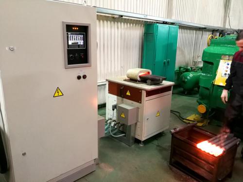Установка индукционного нагрева заготовок для ГКМ