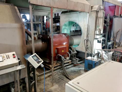 Индукционная установка для нагрева труб